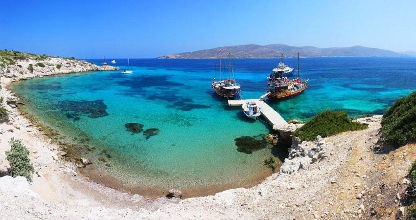 Остров Кос из Бодрума на Катамаране