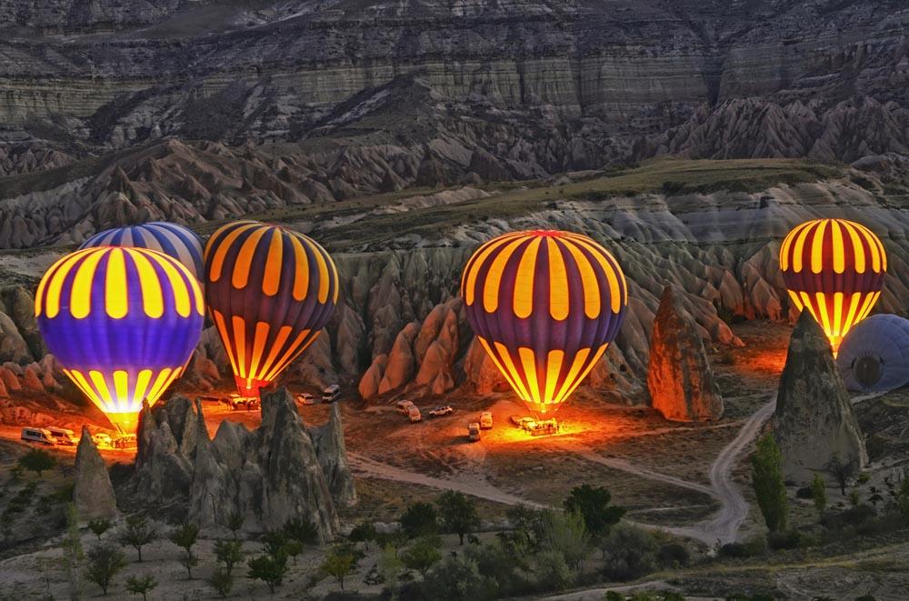 Полет на воздушном шаре в Каппадокии - Экскурсии в Каппадокии