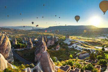 Полет на воздушном шаре в Каппадокии - Программа - Цена и Отзывы