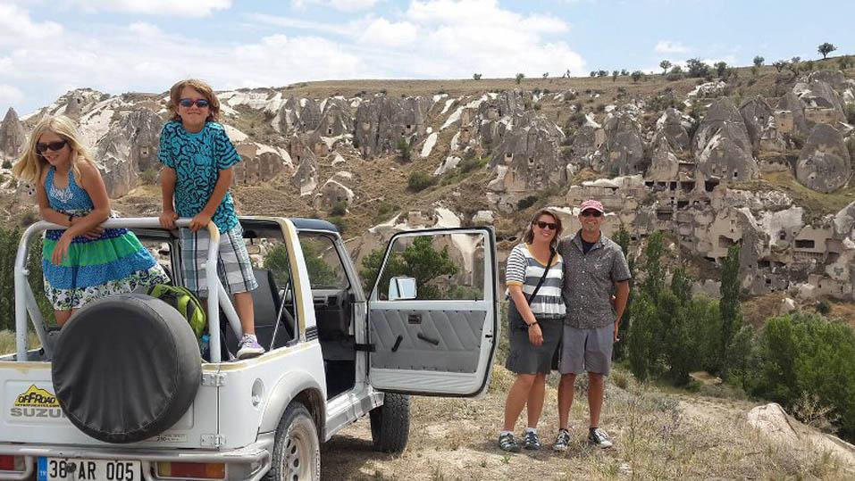 Джип Сафари в Каппадокии - Экскурсии в Каппадокии