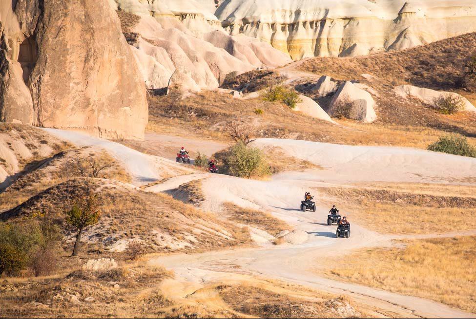Сафари на квадроциклах в Каппадокии - Описание - Фото и Цена