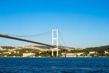 Прогулка по Босфору в Стамбуле - Панорама Босфора и Описание