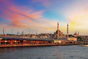 Прогулка по Босфору в Стамбуле - Панорама Босфора - Стамбул