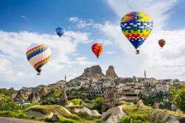 Каппадокия из Алании - Парад Воздушных Шаров - Фото и Цена