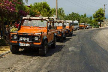 Джип Сафари в Алании - Маршрут - Цена и Фотографии
