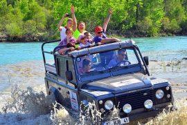 Джип сафари в Сиде - Программа тура - Цена и Отзывы
