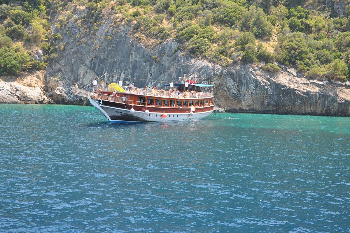 Морская прогулка в Кушадасах - Бухты Кушадасы - Цена и Фото