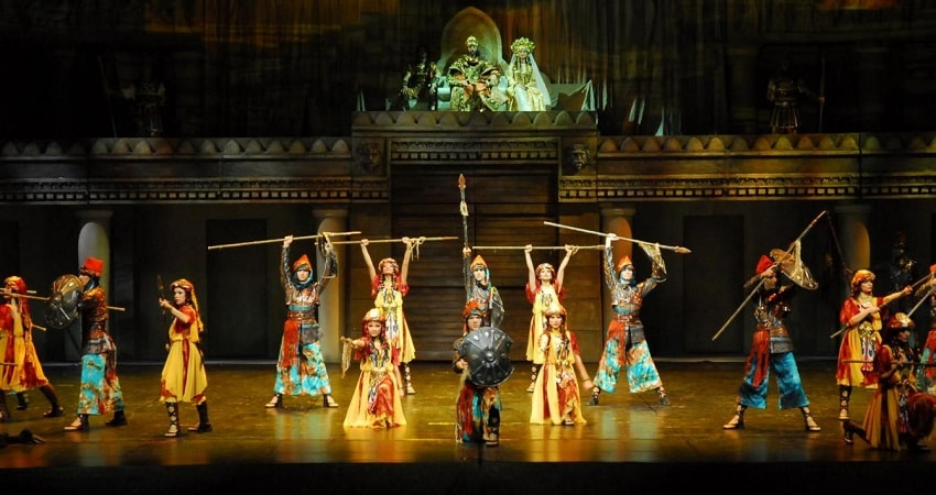 Огни Анатолии в Сиде - Шоу Программа - Цена и Отзывы