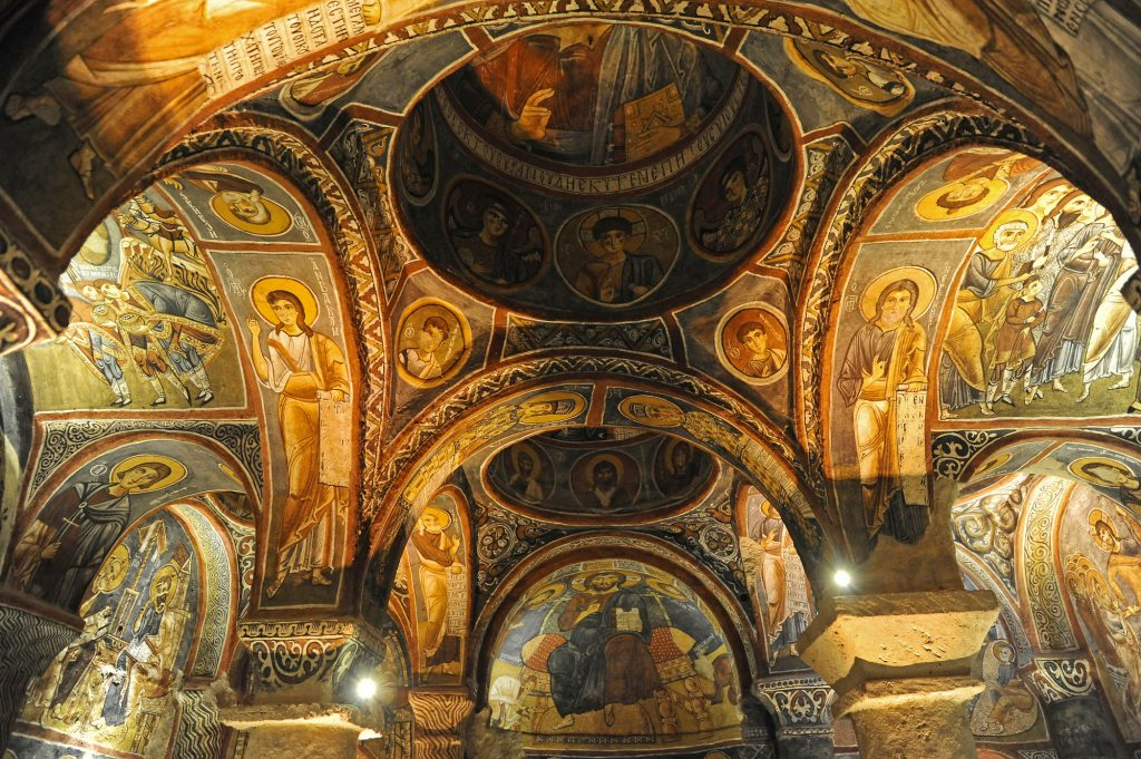 Темная Церковь в Каппадокии - Достопримечательности в Каппадокии
