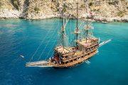 Пиратский корабль в Кемере