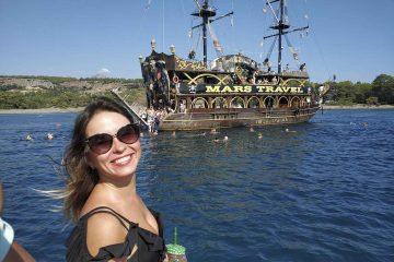 Пиратский корабль в Кемере - Морская прогулка - Цена и Отзывы