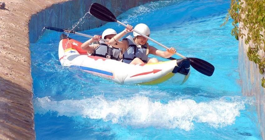 Алания Аквапарк Water Planet из Сиде - Аквапарк в Сиде