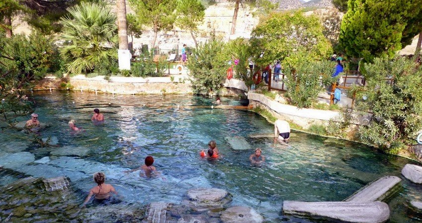 Памуккале из Бодрума - Бассейн Клеопатры - Иераполис