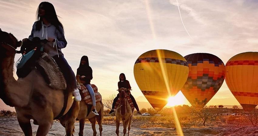 Сафари на верблюдах в Каппадокии - Катание На Верблюдах
