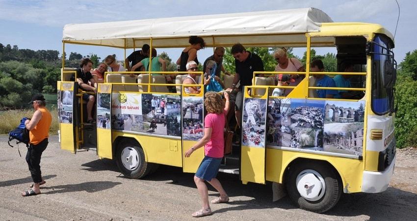 Микс Кабрио Тур в Сиде - Путешествие на лодке - Зеленый каньон