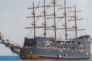 Пиратский Корабль Big Kral в Алании - Экскурсия Пиратский Корабль