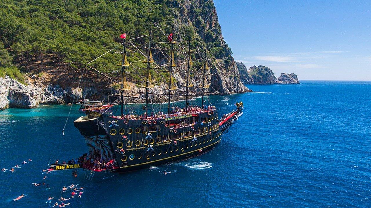 Пиратский Корабль Big Kral в Алании - Описание - Цена и Отзывы