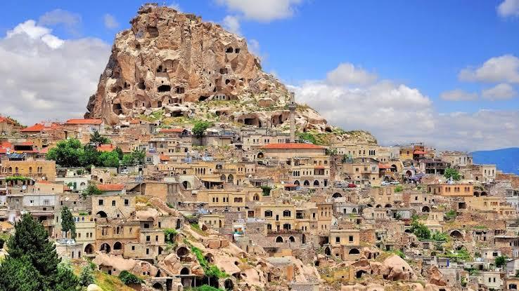 Учхисар - Каппадокия - Крепость Учхисар - Долина Голубей