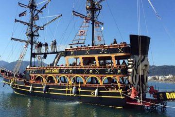 Пиратский Корабль в Мармарисе – Davy Jones - Морская Прогулка