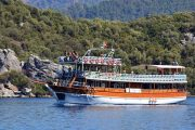 Морская прогулка на яхте - Слияние двух морей! - Turteka