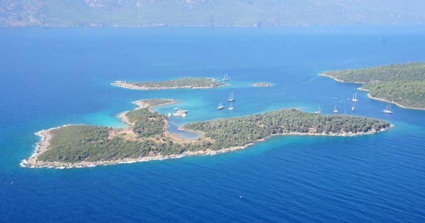 Экскурсия на Остров Клеопатры из Мармариса - Turteka