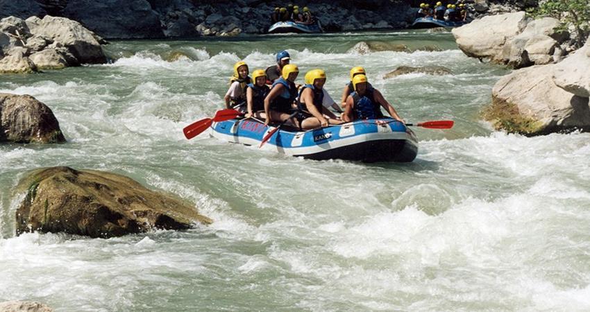 Рафтинг в Мармарисе - Сплав по реке Даламан - Turteka