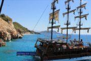 Морская прогулка в Алании - Знаменитые пляжи Алании - Turteka