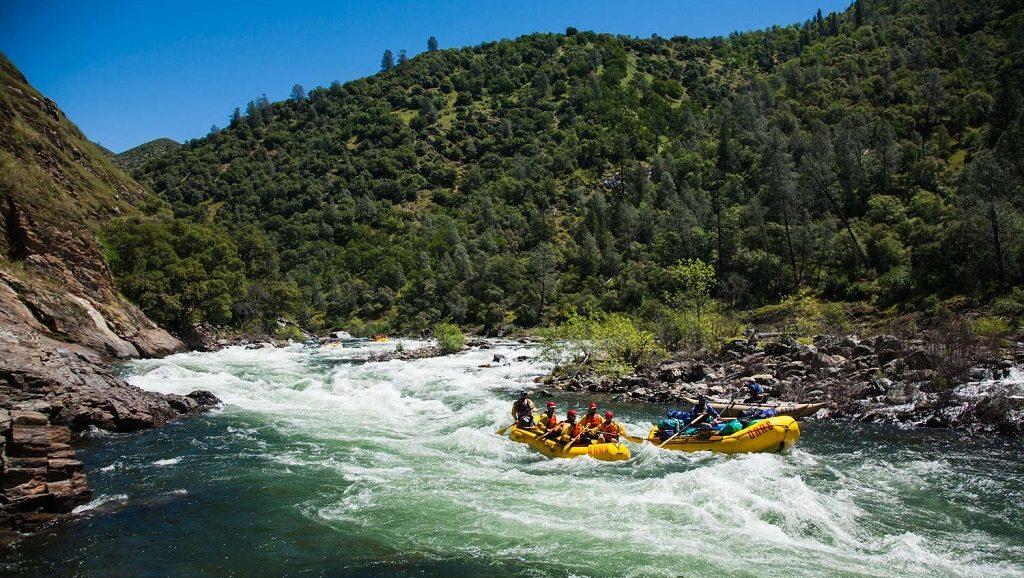 Рафтинг 3 в 1 в Алании - Полет на тарзанке - Кепрюлю-каньон