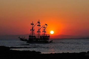 Яхта в Алании на закате - Морская прогулка - Цена и Отзывы