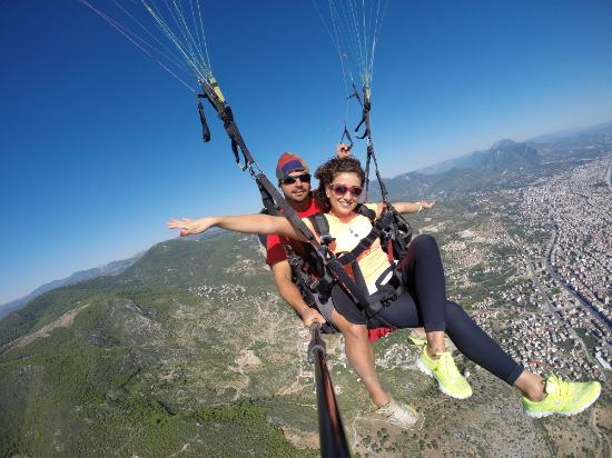 Параглайдинг в Алании - Прыжок с парашютом - Цена и Отзывы