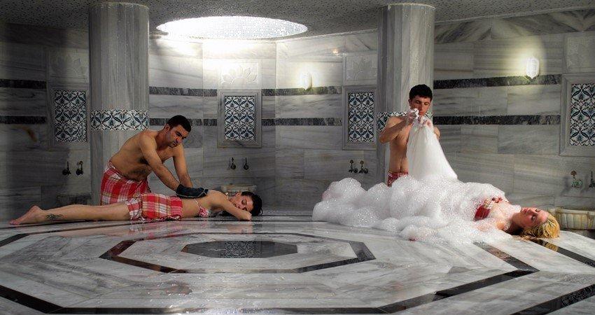Турецкая баня в Белеке - Хаммам и СПА Процедуры - Turteka