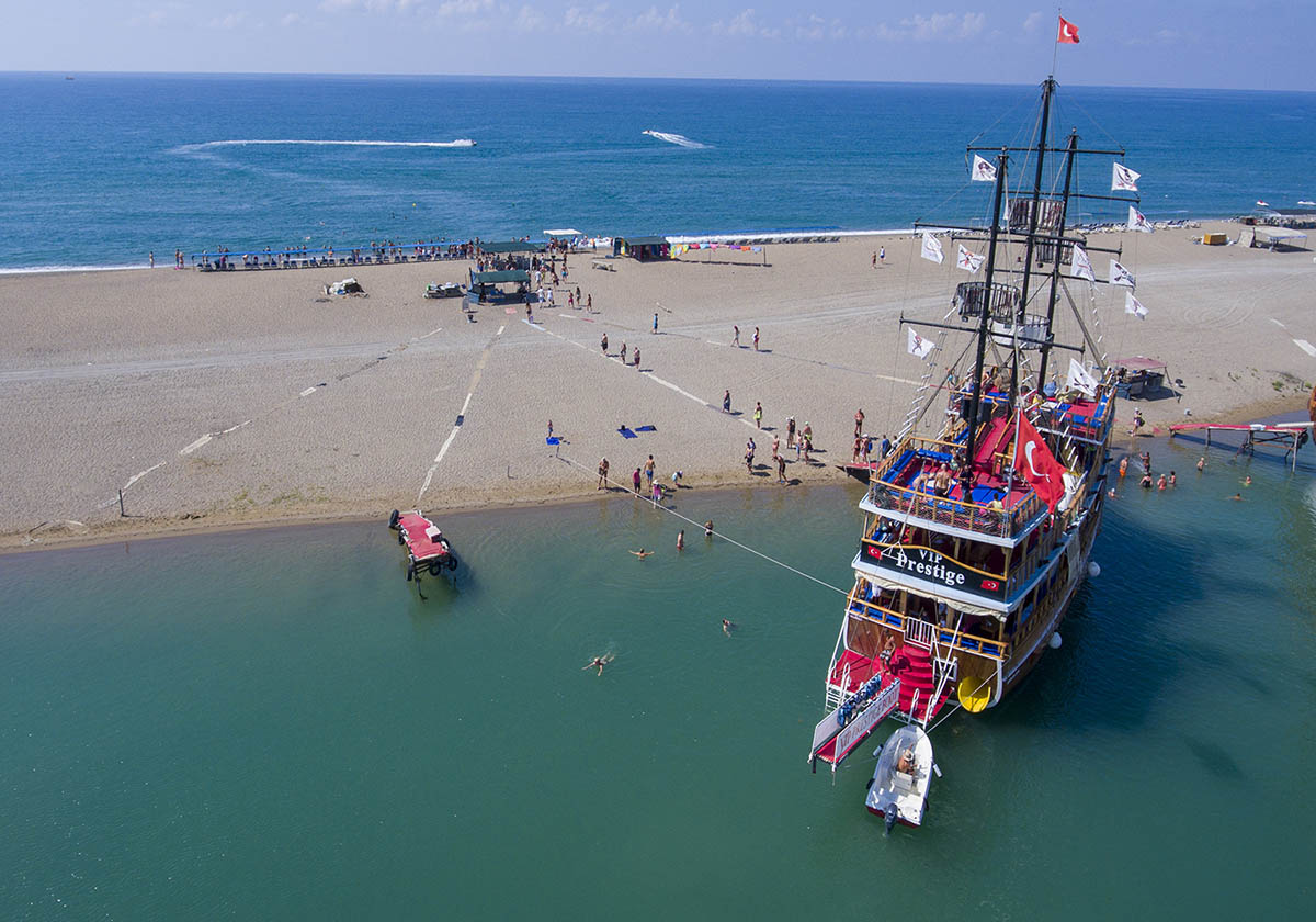 Морская прогулка в Сиде - Экскурсия на яхте - Цена - Фото и Отзывы