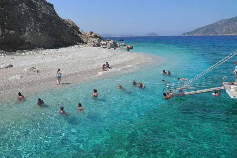 Остров Сулуада из Анталии - Экскурсия на яхте - Описание и Цена