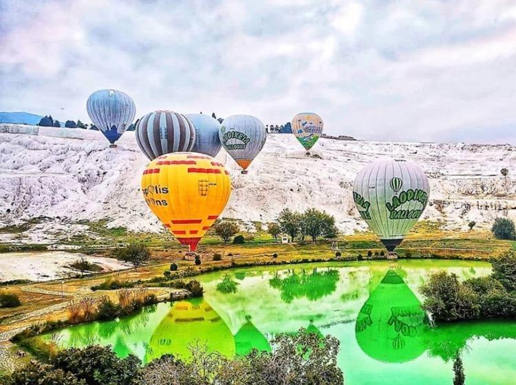 Полет на воздушном шаре из Мармариса