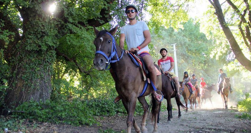 Сафари на лошадях в Фетхие - Верховая езда в Фетхие- Фото и Цена
