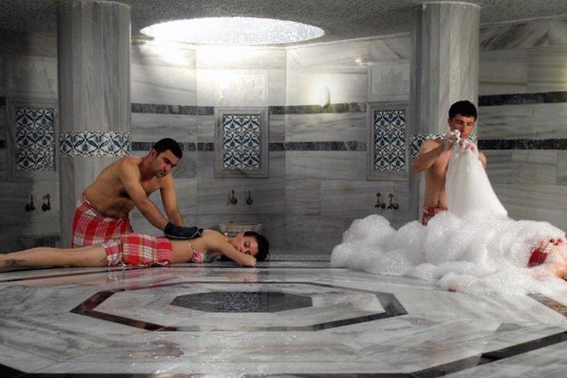 Турецкая баня в Алании - СПА Процедуры - Цена и Отзывы