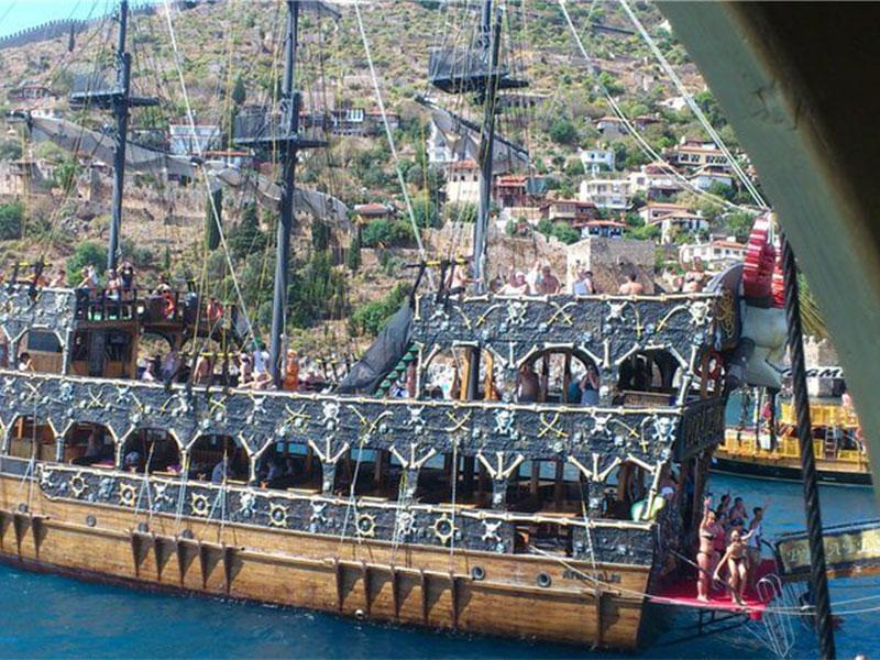 Яхта викингов в Алании - Программа - Цена и Отзывы
