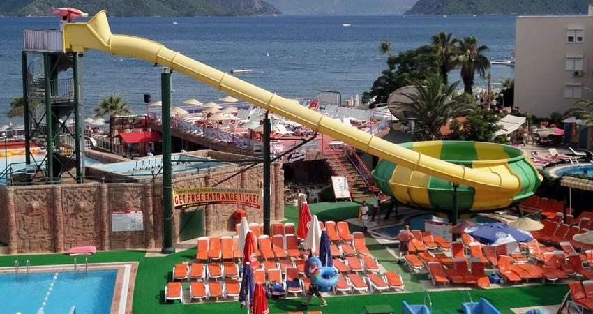 Аквапарк Атлантис в Мармарисе - Описание - Цена и Отзывы