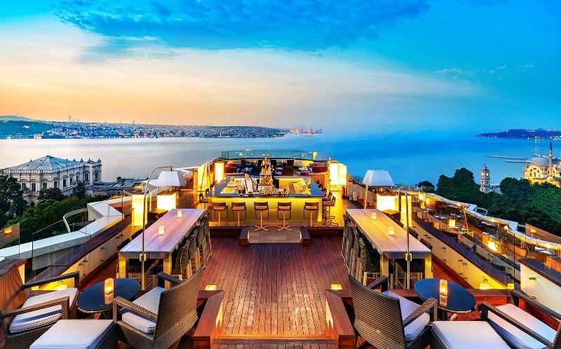 Рестораны и Бары на крышах