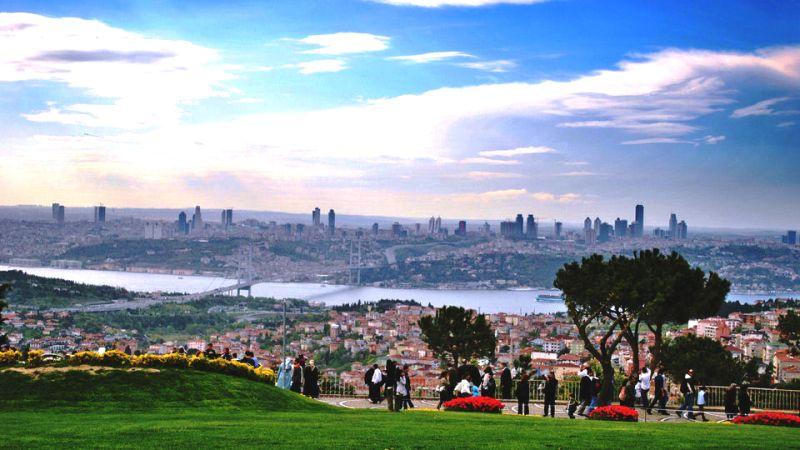 Парк Чамлыжда в Стамбуле