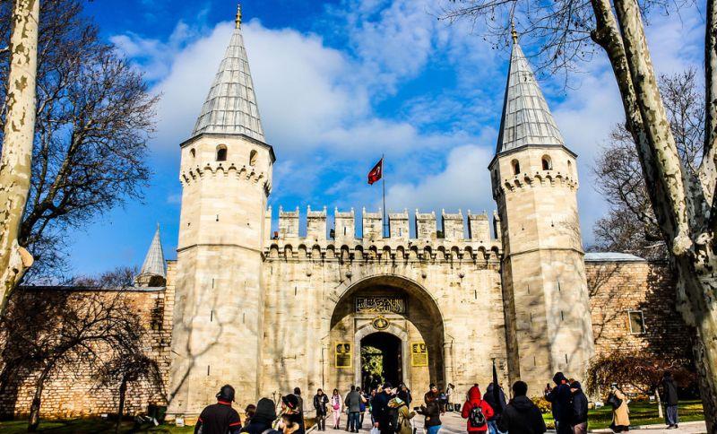 Дворец Топкапы в Султанахмете