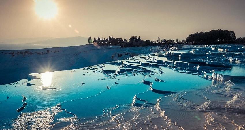 Памуккале из Алании - Карахаит - Иераполис - Бассейн Клеопатры