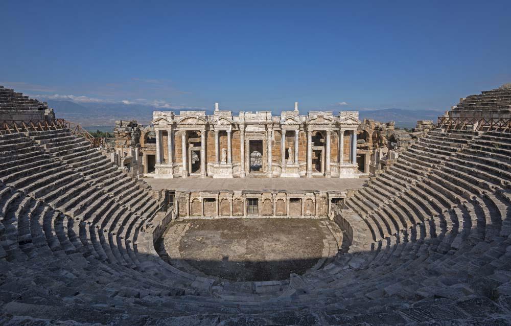 Иераполис - Древний город - Описание и История