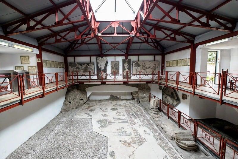 Музей мозаик в Стамбуле
