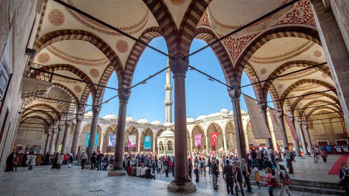 Советы по посещению Голубой мечети