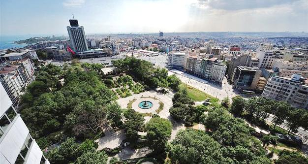 Таксим парк Гези