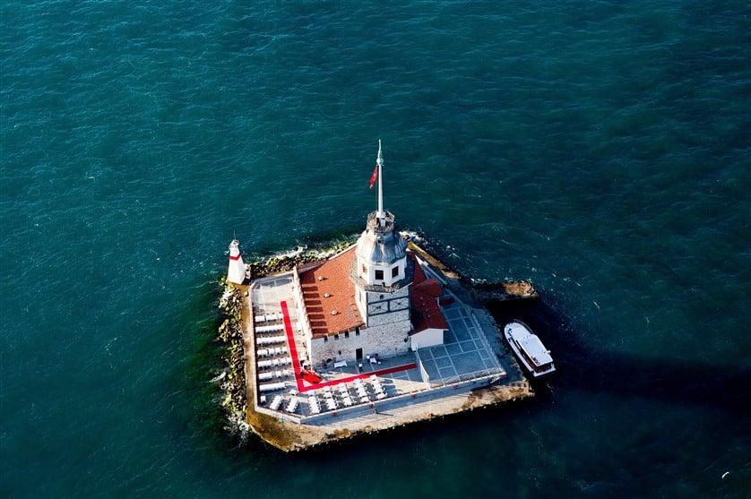 Девичья Башня - Леандрова Башня или Kız Kulesi