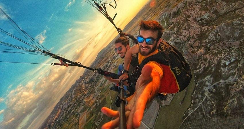 Полет на параплане в Каппадокии - Программа тура - Цена и Отзывы