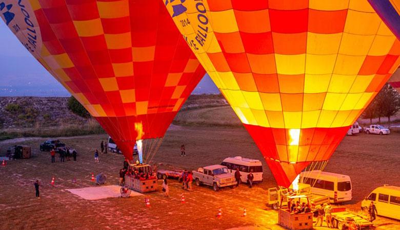 Полет на воздушном шаре в Памуккале - Программа - Цена и Отзывы