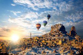 Экскурсия из Стамбула в Каппадокию на самолёте на 2 дня